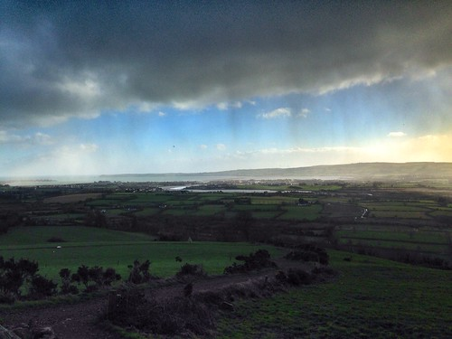 Dungarvan about to get a soaking!