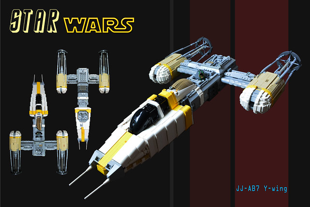 JJ-AB7 Y-wing, by Elliot Feldman, on Flickr