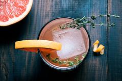 Grapefruit Gin Thyme Fizz