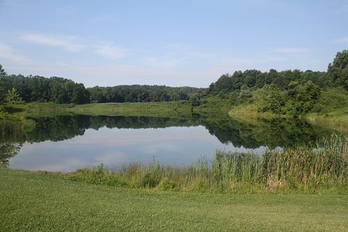ohio lake reflection cuyahogavalleynationalpark