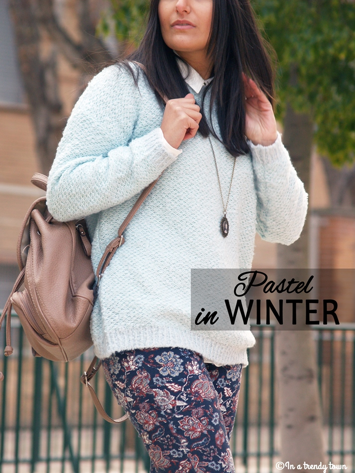 OUTFIT PASTEL IN WINTER