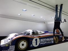 porsche(0.0), open-wheel car(0.0), formula one car(0.0), race car(1.0), automobile(1.0), vehicle(1.0), automotive design(1.0), sports prototype(1.0), land vehicle(1.0), supercar(1.0), sports car(1.0),