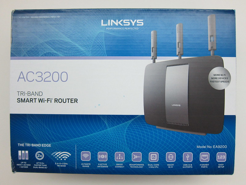Linksys EA9200 Wireless AC3200 Tri Band Smart Wi-Fi Router Review
