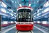 Streetcar washroom for TTC at new Leslie Barns - Doors Open Toronto