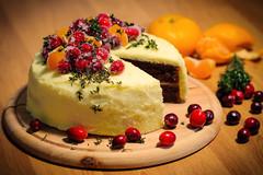 cake with white coating