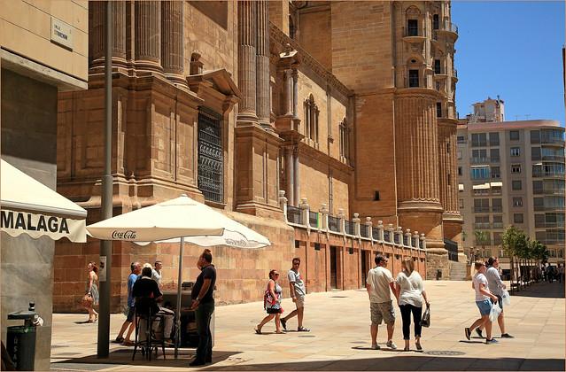 Cathedral de la Encarnacion, calle Postigo de los Abades, Malaga, Andalucia, Espana