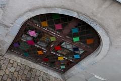 Yarn bombing Besançon 39