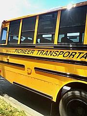 2015 Thomas SafT- Liner C2, Pioneer Transportation Corp, Bus#790, Air Brakes, Air Ride, Radio (N/A), AC (N/A)