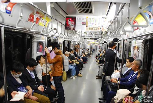 日本地下鐵車廂