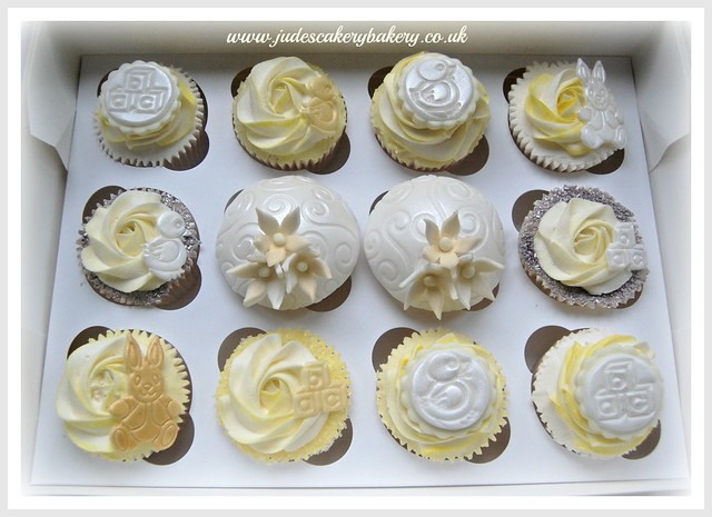 Baby shower cupcakes, www.judescakerybakery.co.uk Manchester