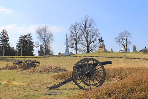 part of the union position on east cemetery hill