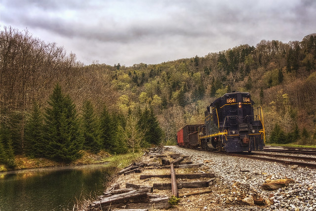 Cheat Mountain Freight Run
