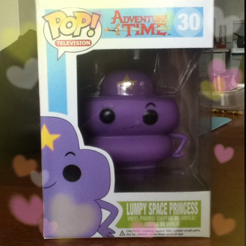 The Mr. brought me home a gift today! #LSP #PopVinyl #AdventureTime