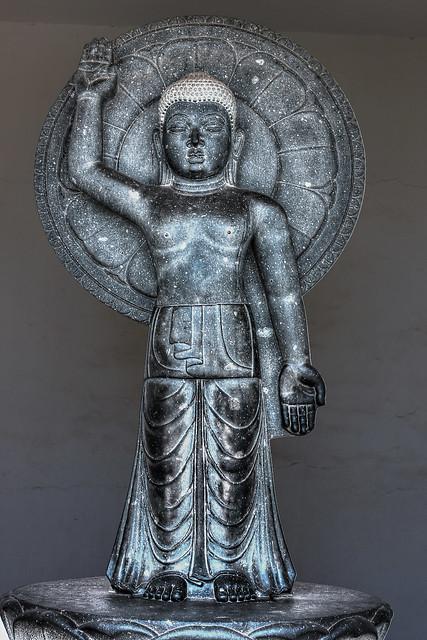 Buddha Statue, Dhaulagiri, Shanti Stupa, Bhubaneswar, Odisha