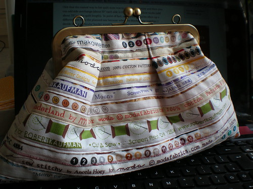 Selvedge Frame Purse 2