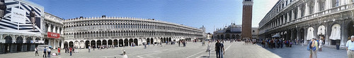 Piazza San Marco - Panorama - Toile