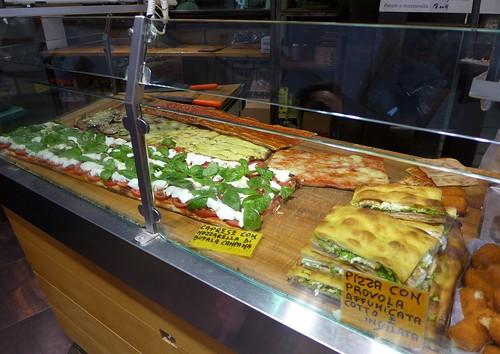 Antico Forno Roscioli pizza counter