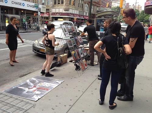 Street artist, West Village