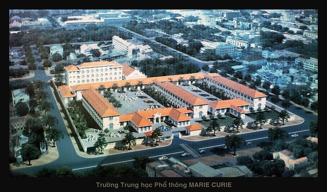 SAIGON - Trường Marie Curie ngày nay (thành lập năm 1918)