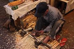 Berber Woodworker - Marrakech, Morocco