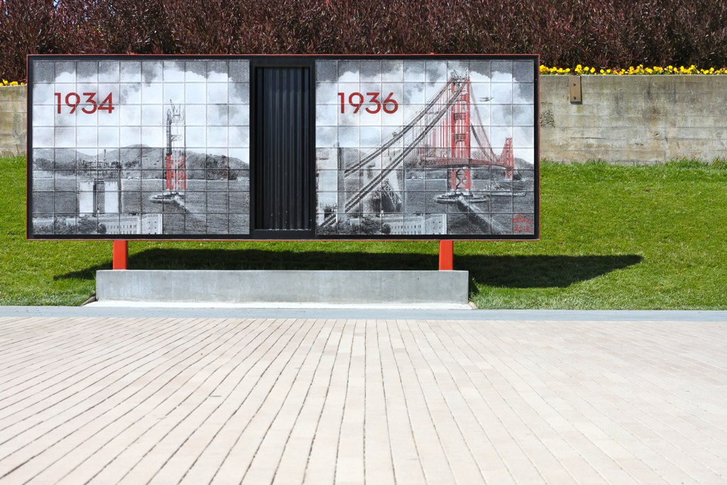 Golden Gate Bridge Visitor Plaza