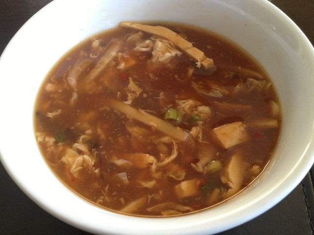 Hot and sour soup - Jade Cafe