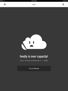 Feedly Error