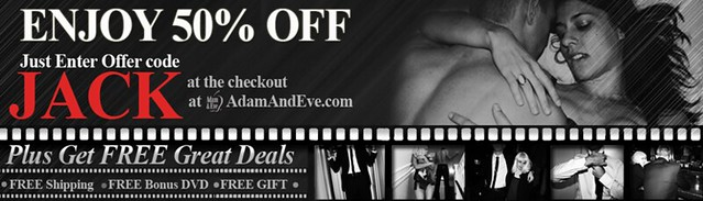 Get 50% OFF Plus More With The Best Adam And Eve Promo Code JACK