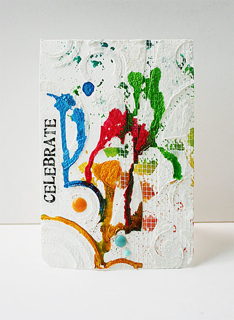 Celebrate-mixed-media-card