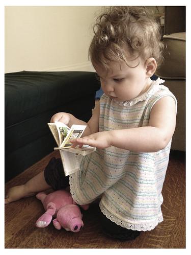 Reading Little Golden Books