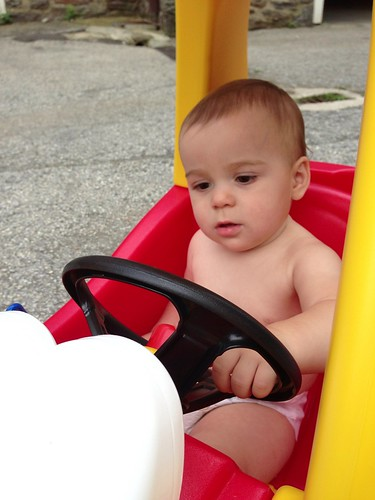 Sick Elliott in Cozy Coupe