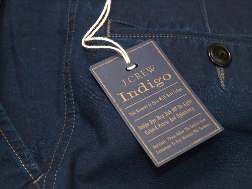 J.Crew [Wallace & Barnes] / Indigo Fishtail Short