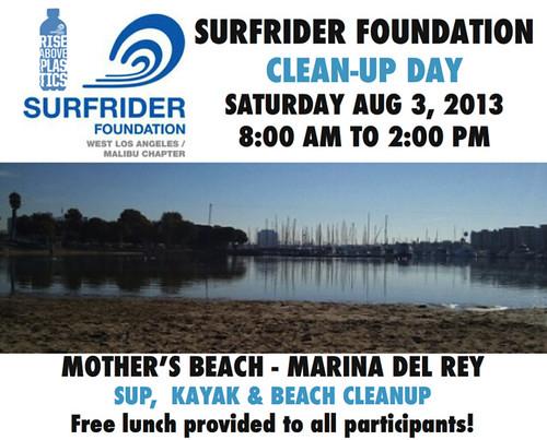 Surfrider Ocean Clean-up Day