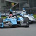 Simon Pagenaud and Helio Castroneves go side-by-side at Mid-Ohio
