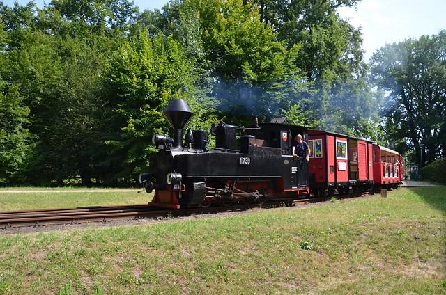Lok 1739 der Parkeisenbahn Cottbus