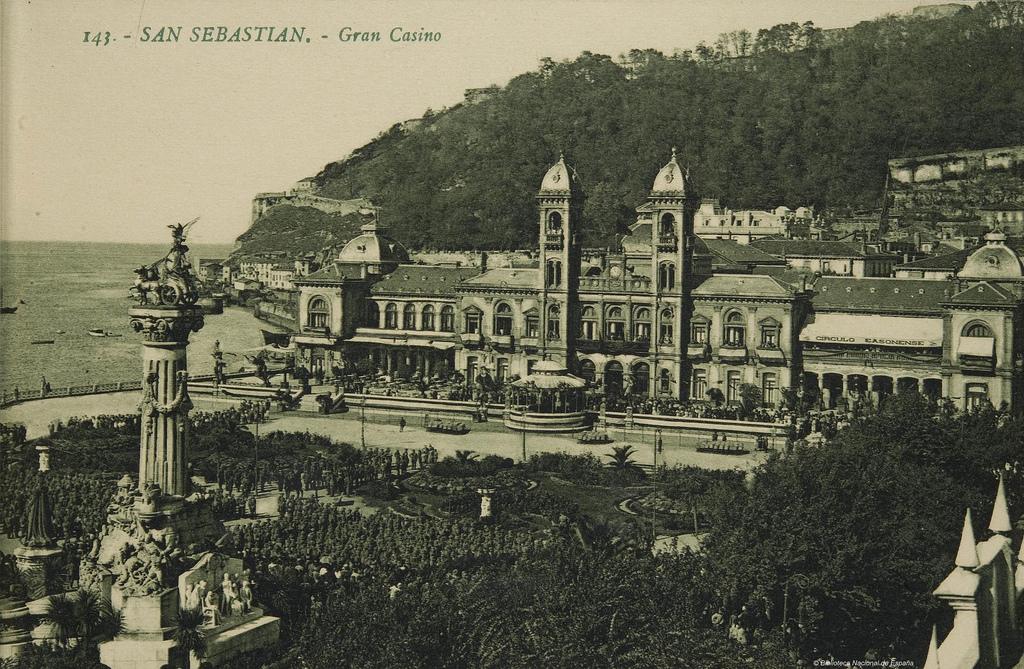 Gran Casino de San Sebastián, en 1905. Autor, Biblioteca Nacional de España