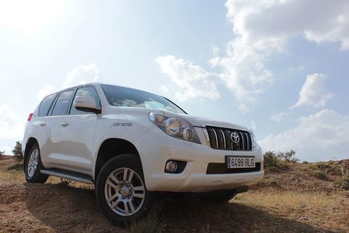Prueba Toyota Land Cruiser 2013