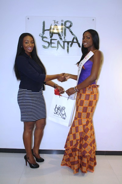Miss Ghana 2013 winners visit Hair Senta (12)