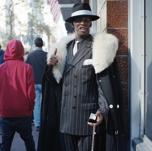 Black Friday Salesman