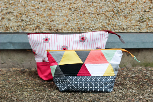 Nordika Wide-Open Pouches by Jeni Baker