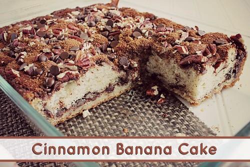 Cinnamon Banana Cake 2