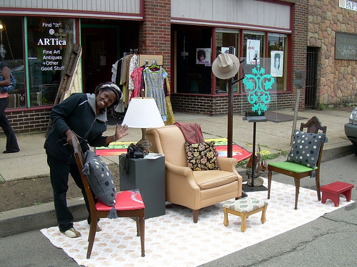 Park(ing) Day, Pittsburgh (by: Kordite, creative commons)