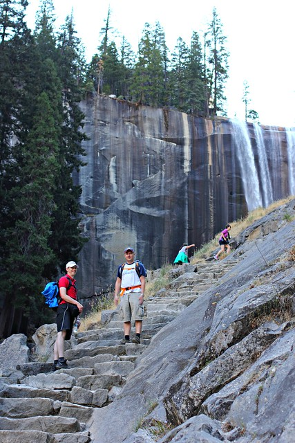 Vernal Falls on Half Dome Trail, Yosemite
