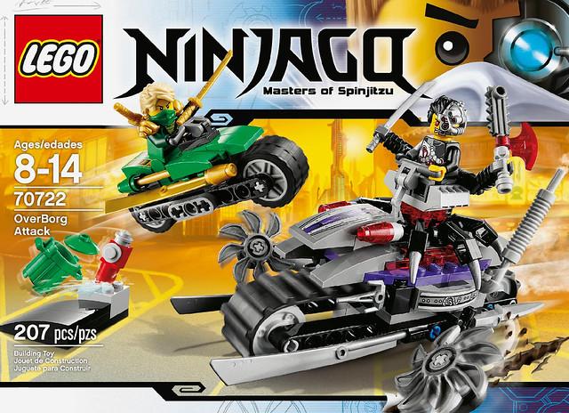 LEGO Ninjago 2014 - 70722 OverBorg Attack