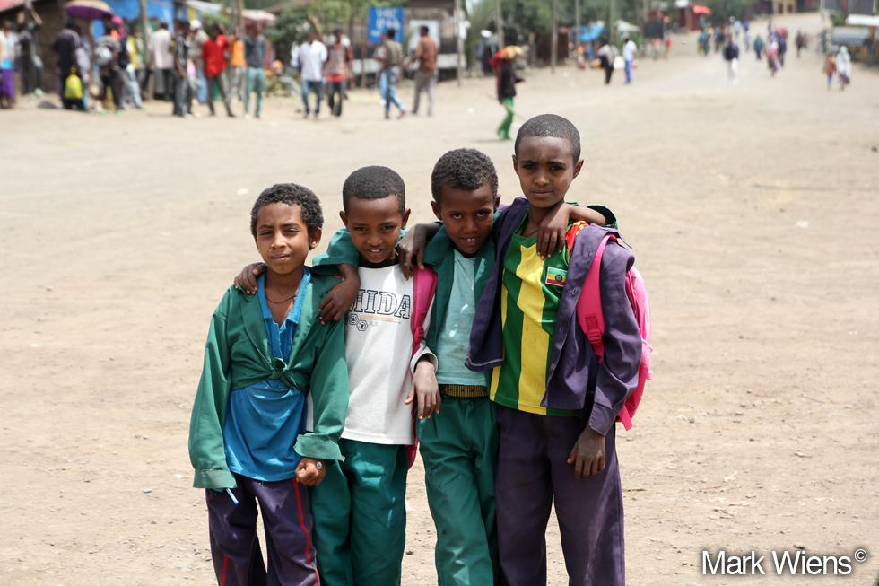 1. 4 Boys in Lalibela