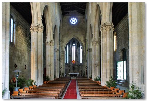 Interior da Igreja do Mosteiro de Leça do Balio by VRfoto