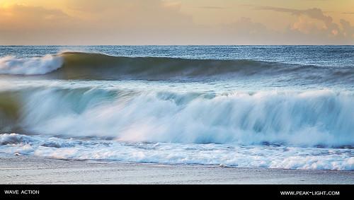 ocean beach sunrise tide wave atlantic swell olhosdagua