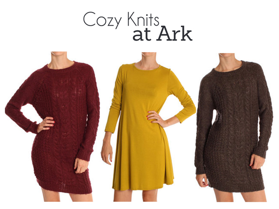 Cozy knits at Ark