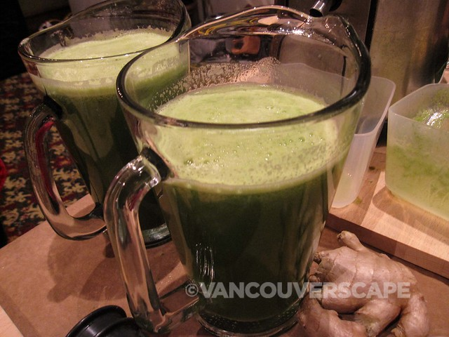 Nourish Healing Foods: green juiced drinks