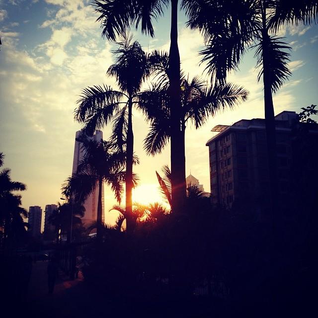 若得夕陽無限好,何須惆悵近黃昏?